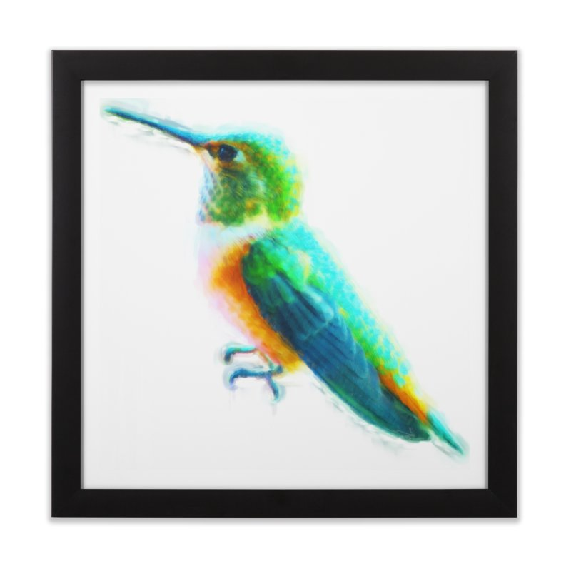 Young and Vibrant Home Framed Fine Art Print by Of The Wild by Kimberly J Tilley