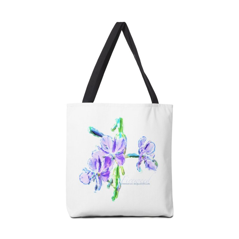 Fireweed Accessories Tote Bag Bag by Of The Wild by Kimberly J Tilley