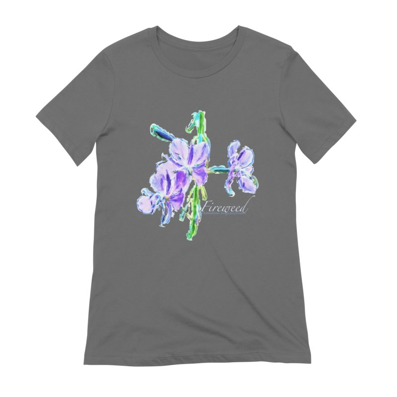 Fireweed Women's Extra Soft T-Shirt by Of The Wild by Kimberly J Tilley