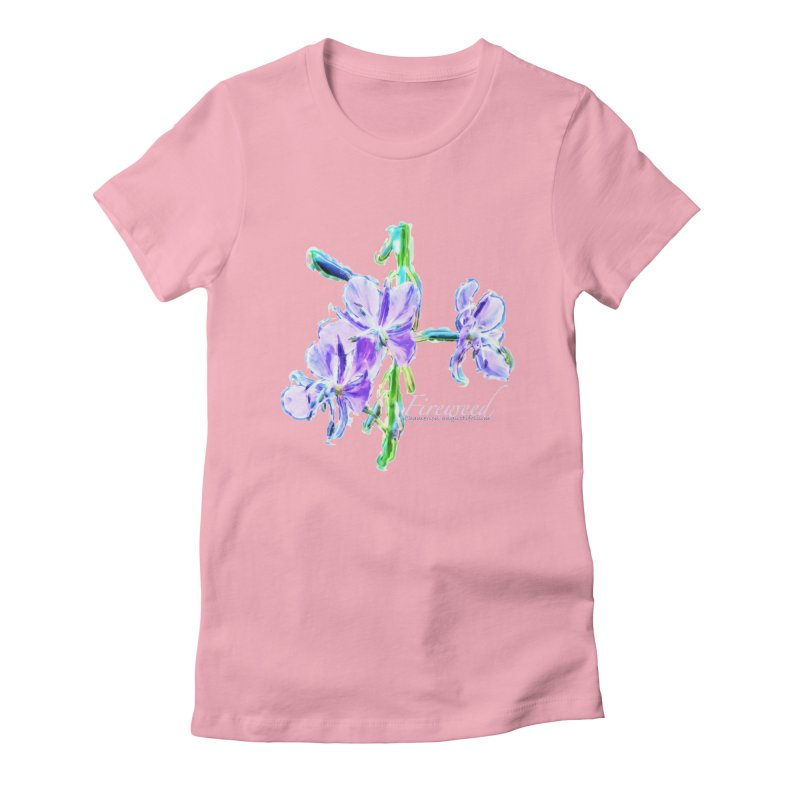 Fireweed Women's Fitted T-Shirt by Of The Wild by Kimberly J Tilley