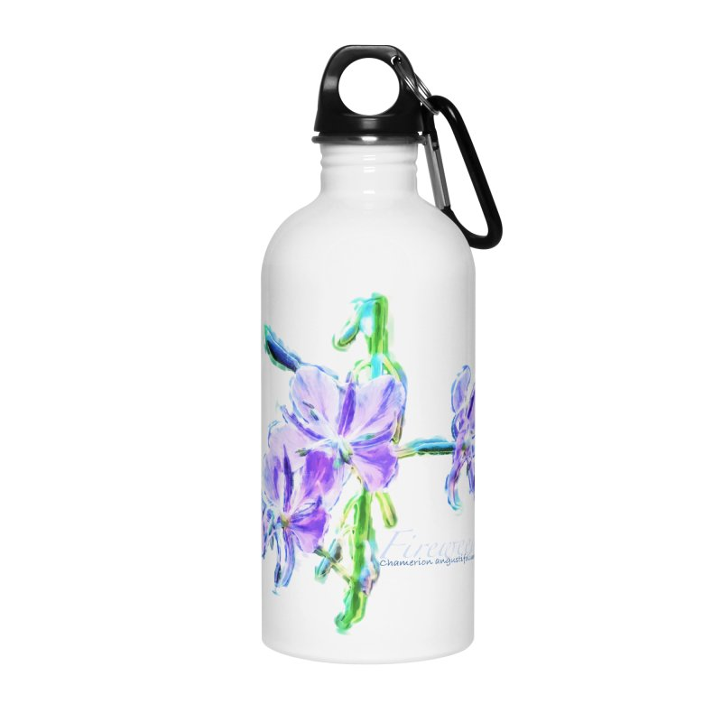 Fireweed Accessories Water Bottle by Of The Wild by Kimberly J Tilley