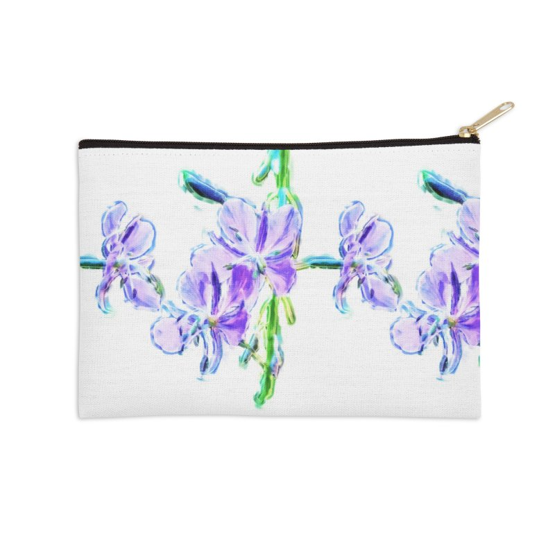 Fireweed Accessories Zip Pouch by Of The Wild by Kimberly J Tilley