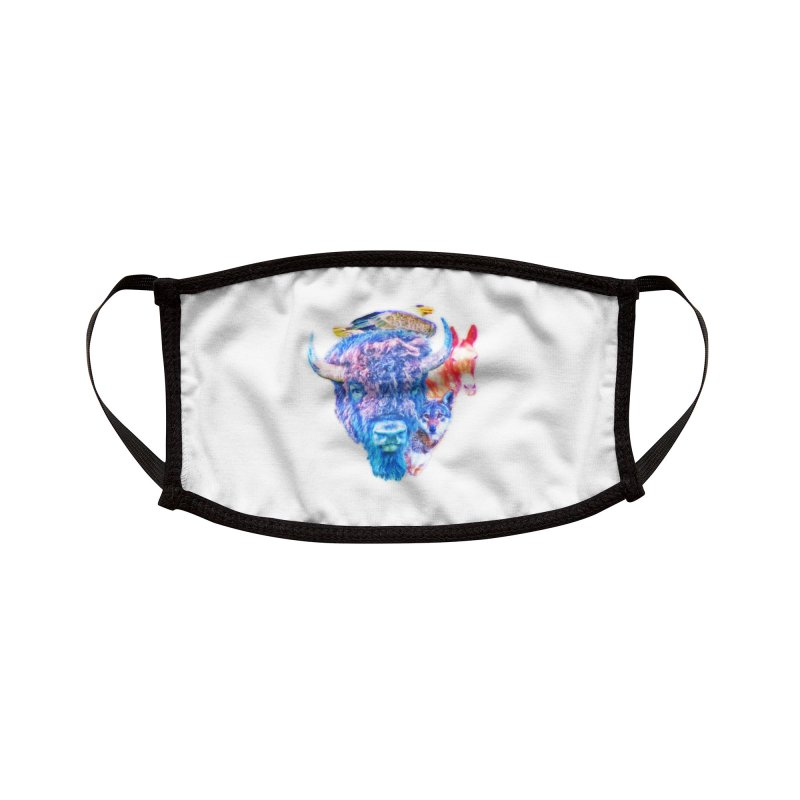 American Spirit Accessories Face Mask by Of The Wild by Kimberly J Tilley