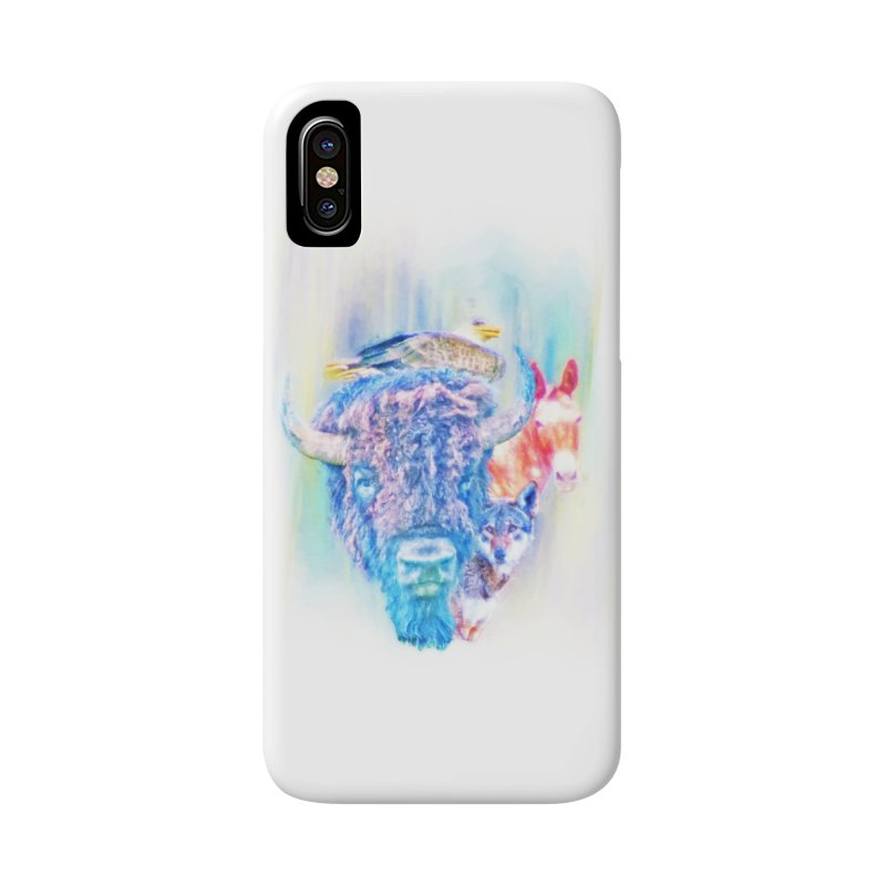 American Spirit Accessories Phone Case by Of The Wild by Kimberly J Tilley