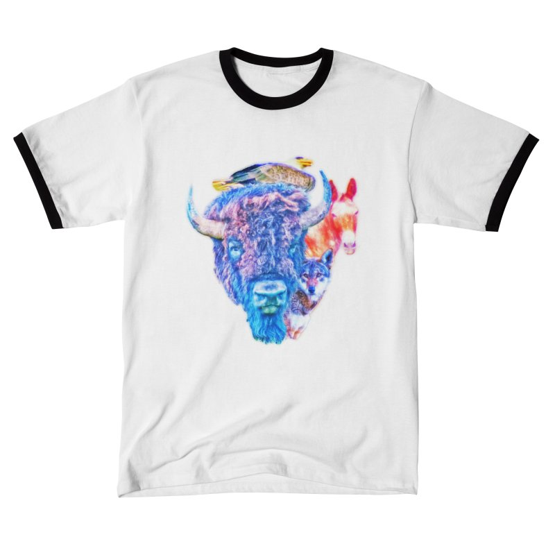 American Spirit Women's T-Shirt by Of The Wild by Kimberly J Tilley