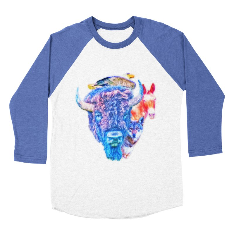 American Spirit Women's Longsleeve T-Shirt by Of The Wild by Kimberly J Tilley