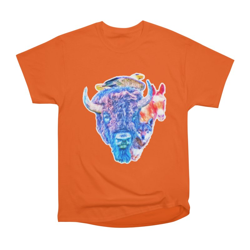 American Spirit Men's T-Shirt by Of The Wild by Kimberly J Tilley