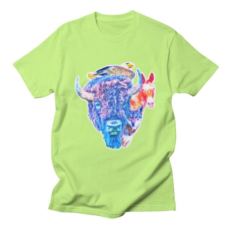 American Spirit Women's Regular Unisex T-Shirt by Of The Wild by Kimberly J Tilley