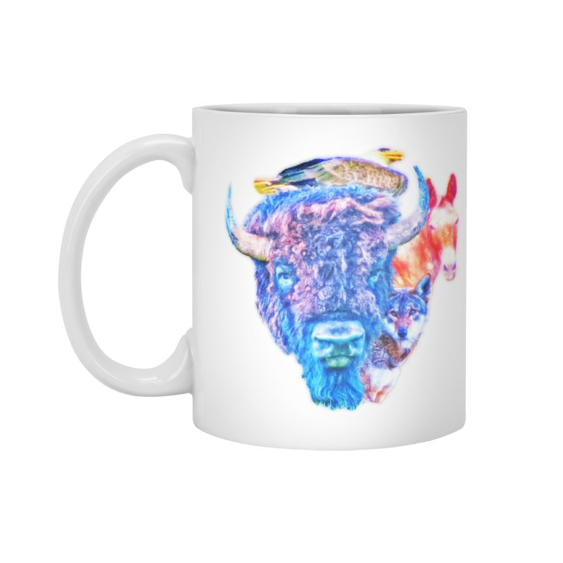 American Spirit Accessories Mug by Of The Wild by Kimberly J Tilley