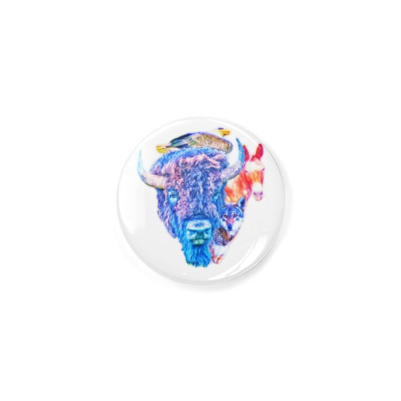 American Spirit Accessories Button by Of The Wild by Kimberly J Tilley