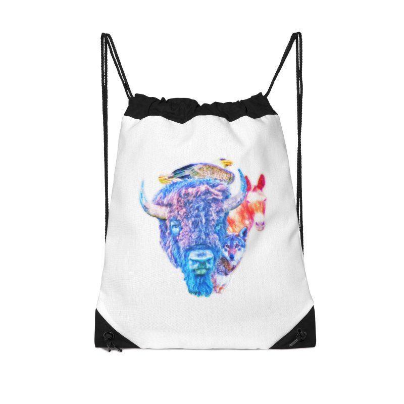 American Spirit Accessories Bag by Of The Wild by Kimberly J Tilley