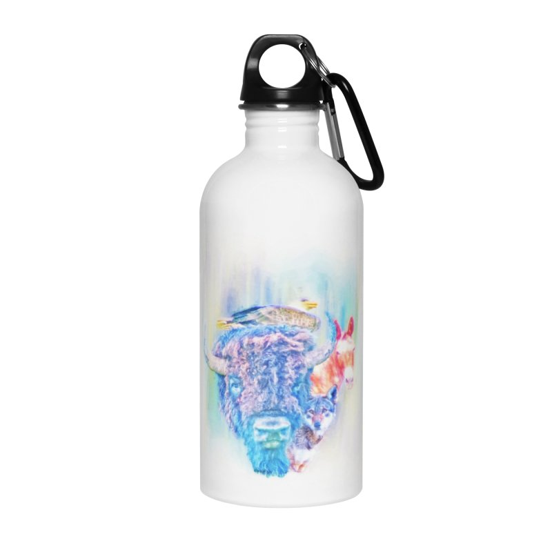 American Spirit Accessories Water Bottle by Of The Wild by Kimberly J Tilley
