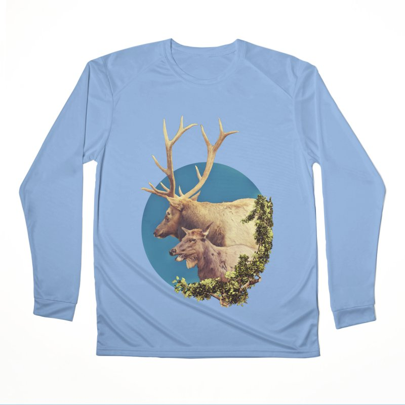 The Stag and the Hind Men's Longsleeve T-Shirt by Of The Wild by Kimberly J Tilley