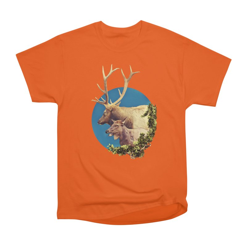 The Stag and the Hind Women's T-Shirt by Of The Wild by Kimberly J Tilley