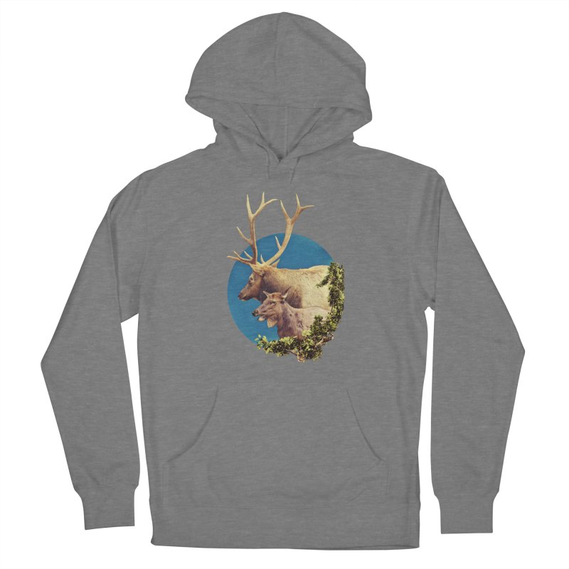 The Stag and the Hind Women's Pullover Hoody by Of The Wild by Kimberly J Tilley