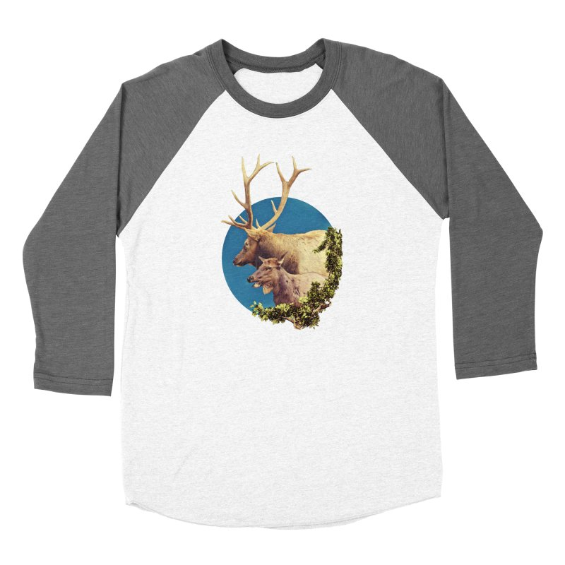 The Stag and the Hind Women's Longsleeve T-Shirt by Of The Wild by Kimberly J Tilley