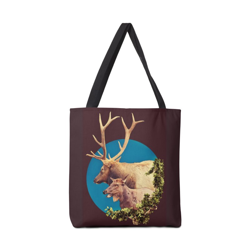 The Stag and the Hind Accessories Tote Bag Bag by Of The Wild by Kimberly J Tilley