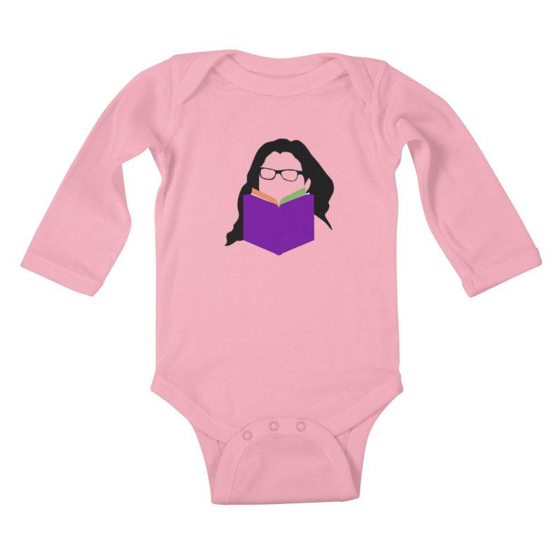 Kim B Musing - Bookworm Kids Baby Longsleeve Bodysuit by Kim B Musing's Artist Shop