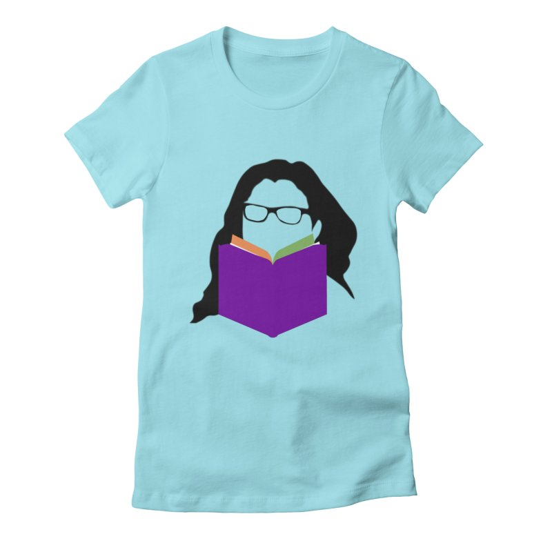 Kim B Musing - Bookworm Women's Fitted T-Shirt by Kim B Musing's Artist Shop