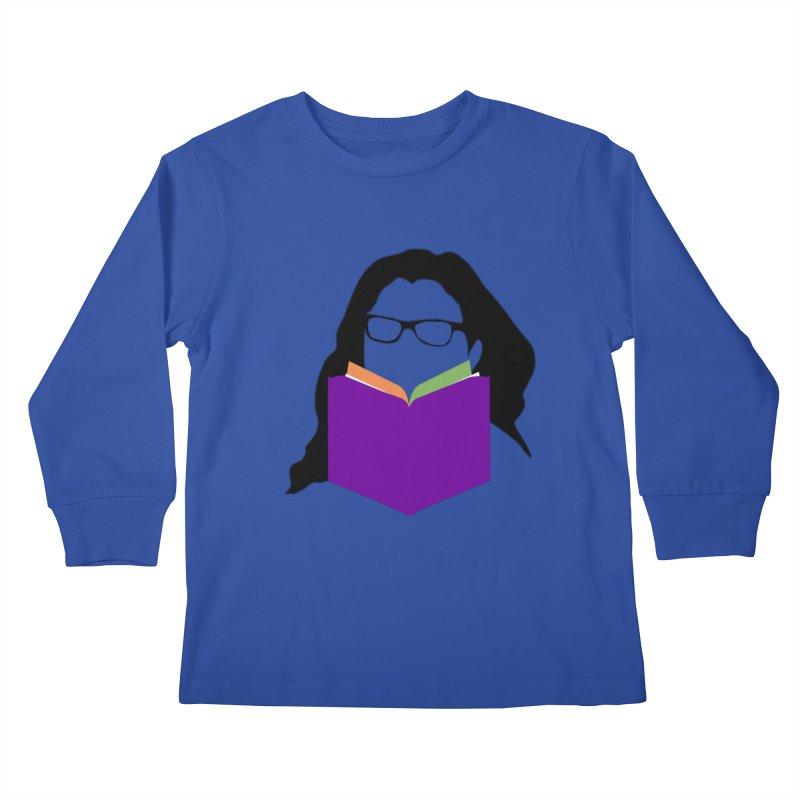 Kim B Musing - Bookworm Kids Longsleeve T-Shirt by Kim B Musing's Artist Shop