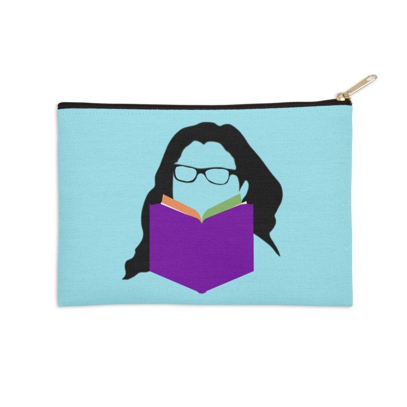 Kim B Musing - Bookworm Accessories Zip Pouch by Kim B Musing's Artist Shop
