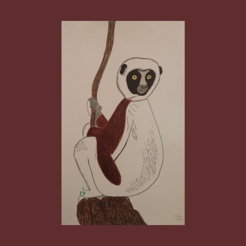 Sifaka by Whimsical Wildlife Wares