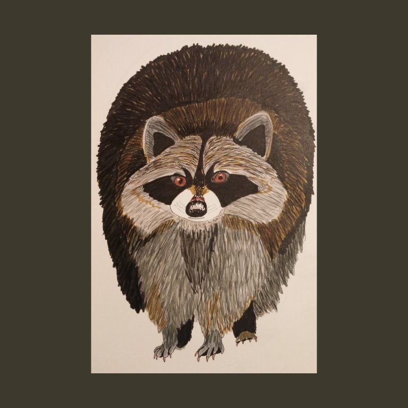 Chubby Raccoon by Whimsical Wildlife Wares