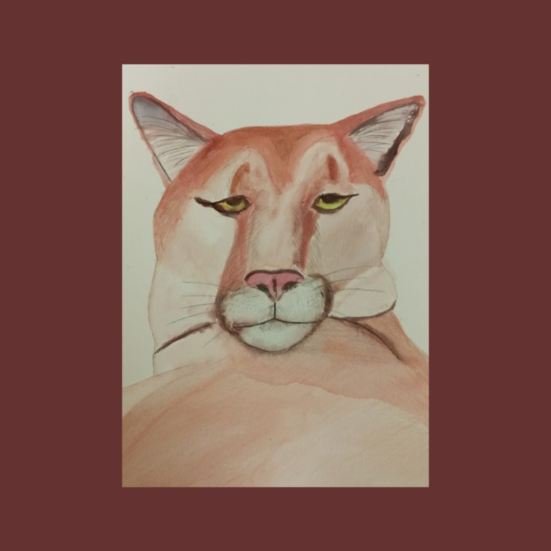 Haughty Cougar by Whimsical Wildlife Wares