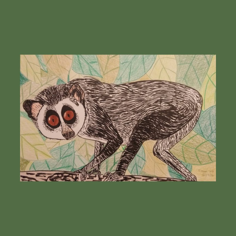 Slender Loris by Whimsical Wildlife Wares