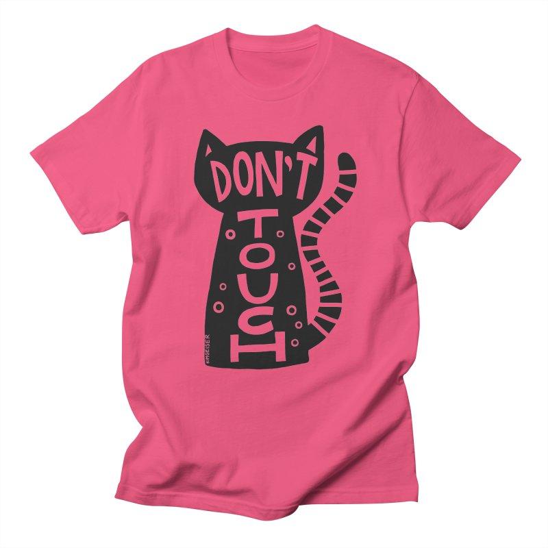 Don't Touch Me Men's Regular T-Shirt by kimgeiserstudios's Artist Shop