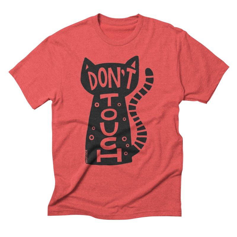 Don't Touch Me Men's Triblend T-Shirt by kimgeiserstudios's Artist Shop