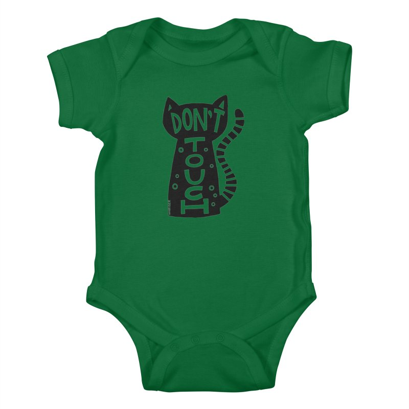 Don't Touch Me Kids Baby Bodysuit by kimgeiserstudios's Artist Shop
