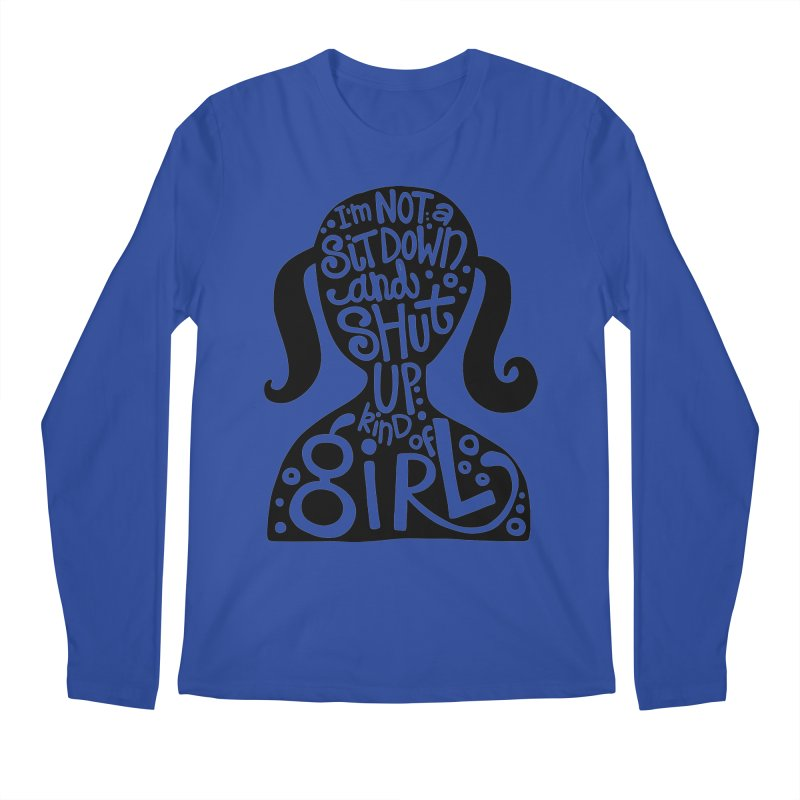 Kind of girl Men's Regular Longsleeve T-Shirt by kimgeiserstudios's Artist Shop