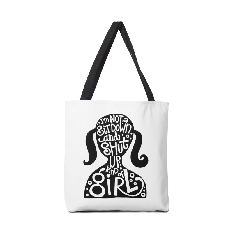 Kind of girl Accessories Tote Bag Bag by kimgeiserstudios's Artist Shop