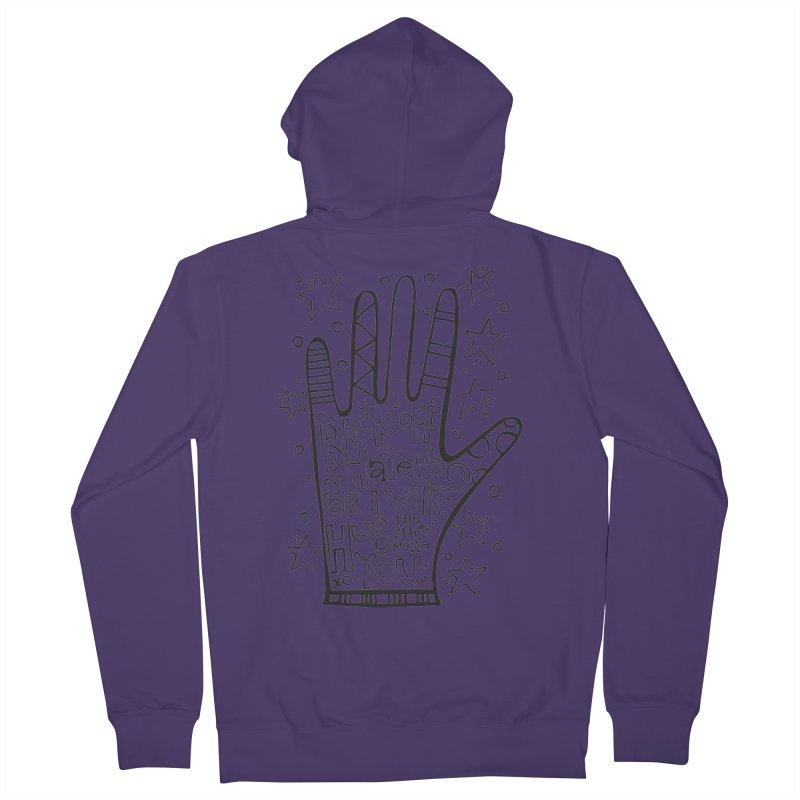 Back off Haters Women's Zip-Up Hoody by kimgeiserstudios's Artist Shop