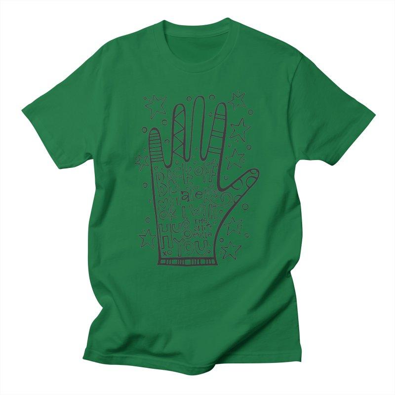 Back off Haters Men's T-Shirt by kimgeiserstudios's Artist Shop