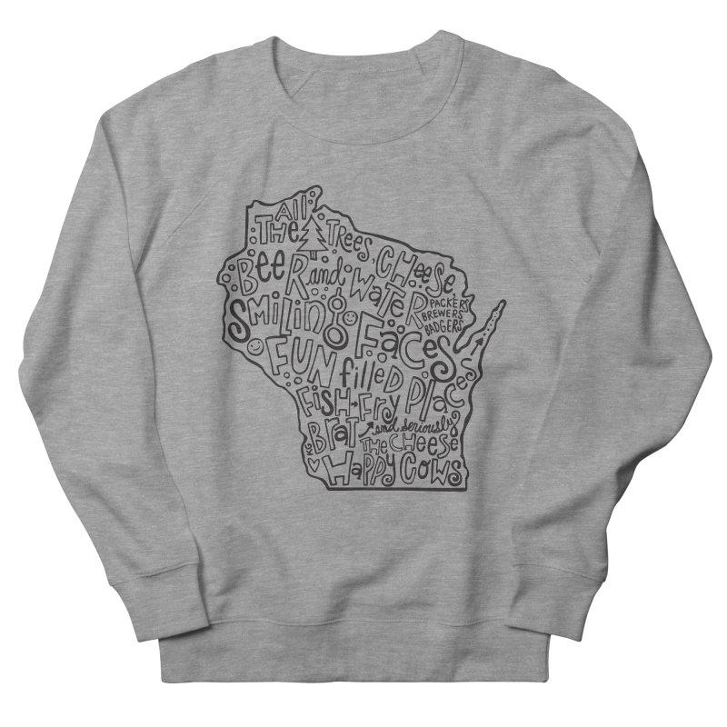 Wisconsin Women's Sweatshirt by kimgeiserstudios's Artist Shop