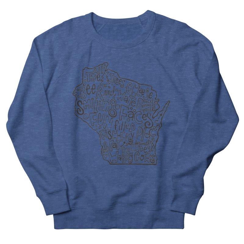 Wisconsin Men's Sweatshirt by kimgeiserstudios's Artist Shop