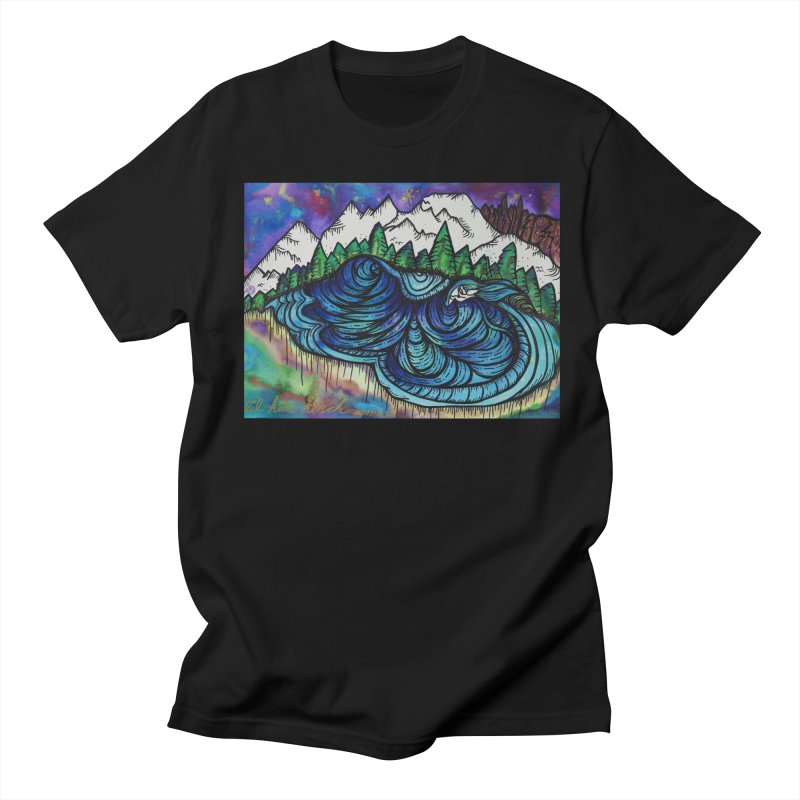 Mammoth Skate Park  Men's Regular T-Shirt by kimkirch's Artist Shop