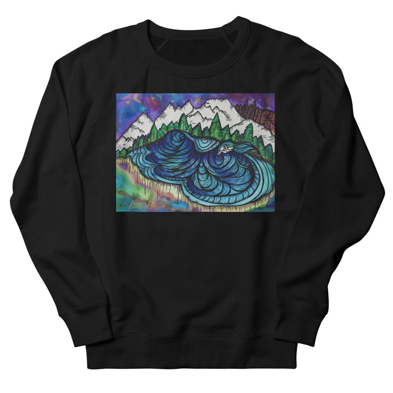 Mammoth Skate Park  Men's French Terry Sweatshirt by kimkirch's Artist Shop