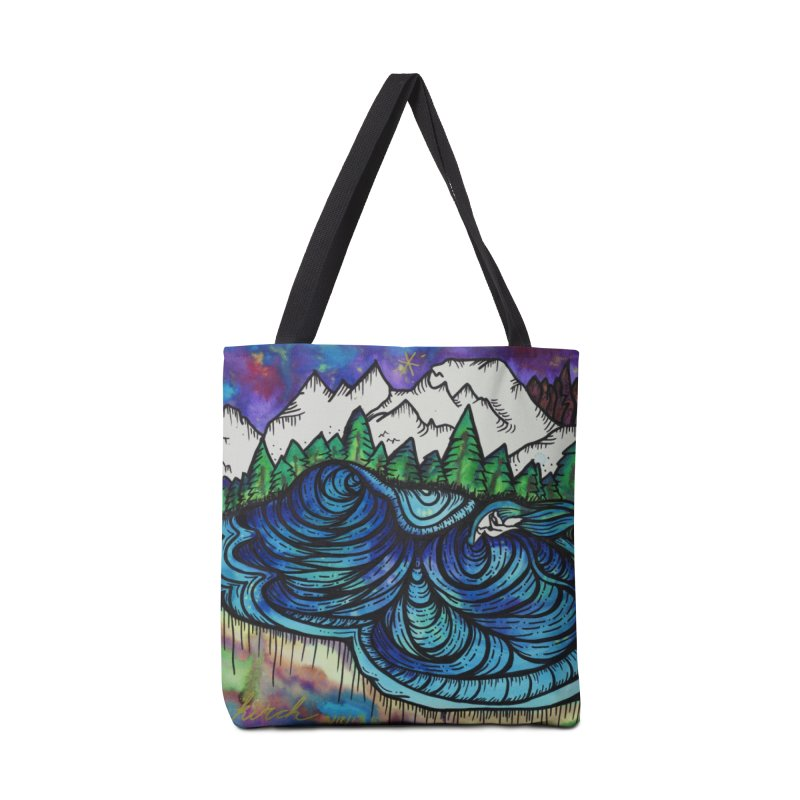 Mammoth Skate Park  Accessories Tote Bag Bag by kimkirch's Artist Shop