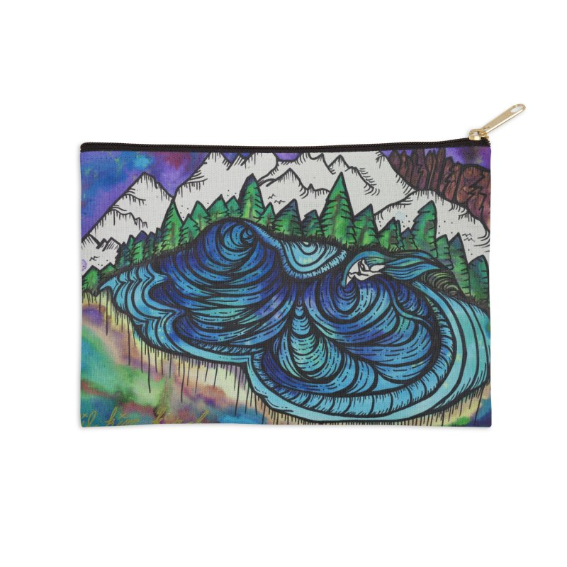 Mammoth Skate Park  Accessories Zip Pouch by kimkirch's Artist Shop