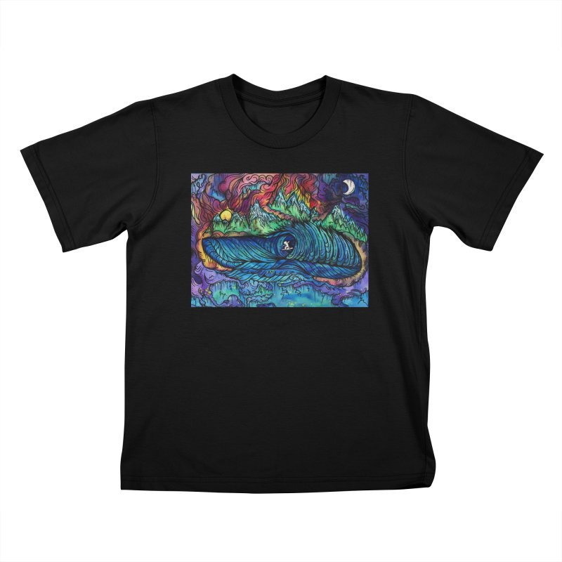 Dreaming  Kids T-Shirt by kimkirch's Artist Shop