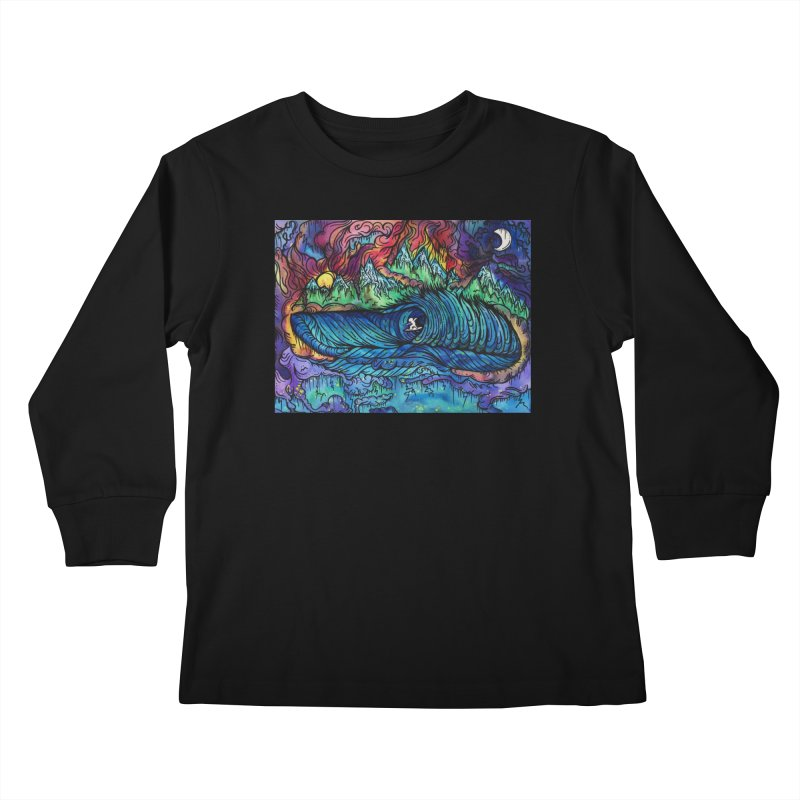 Dreaming  Kids Longsleeve T-Shirt by kimkirch's Artist Shop