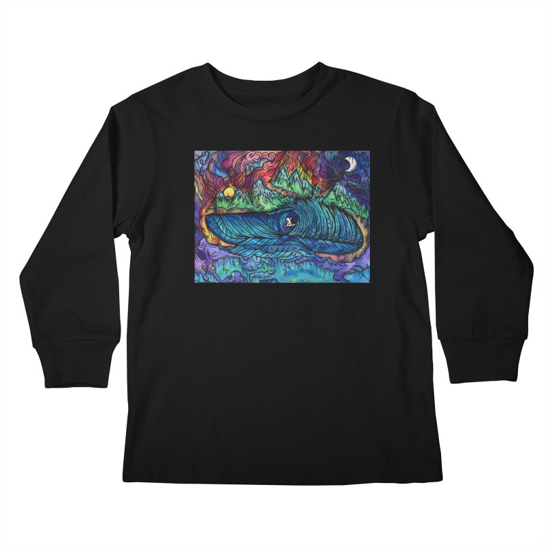 Dreaming  Kids Longsleeve T-Shirt by kimkirch's Artist Shop