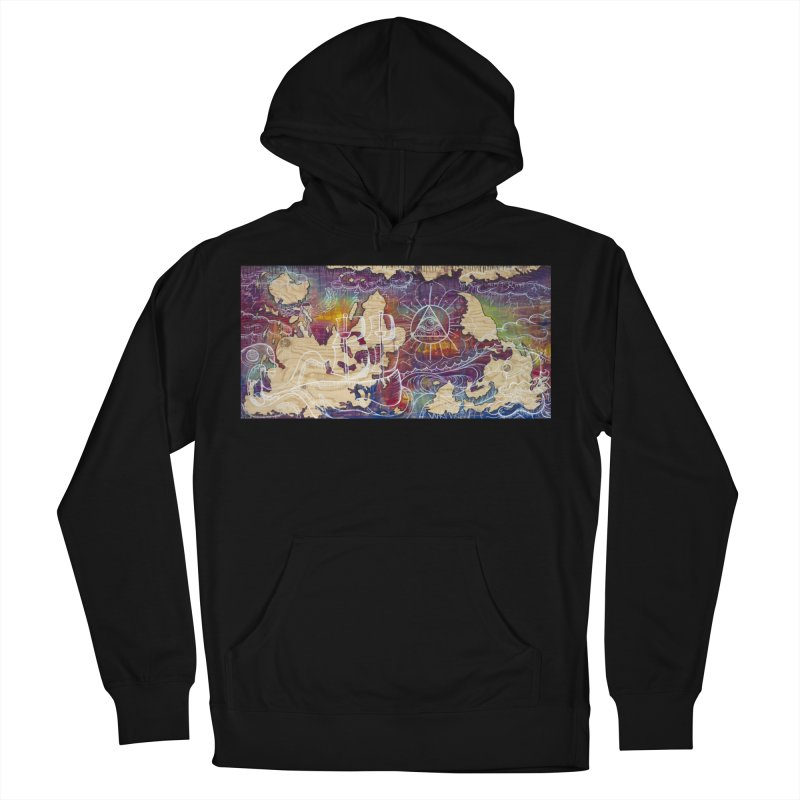 Turn your World upside down Women's French Terry Pullover Hoody by kimkirch's Artist Shop