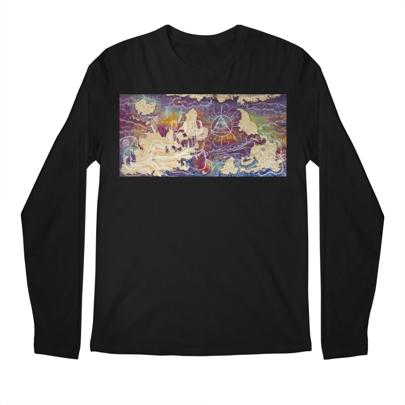 Turn your World upside down Men's Regular Longsleeve T-Shirt by kimkirch's Artist Shop