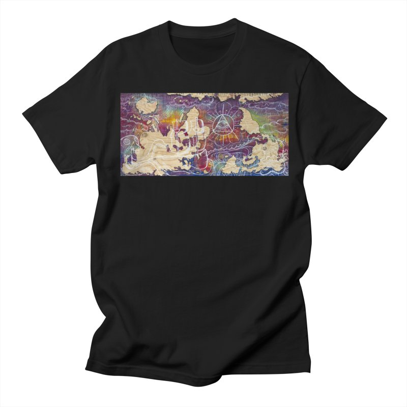 Turn your World upside down Men's Regular T-Shirt by kimkirch's Artist Shop