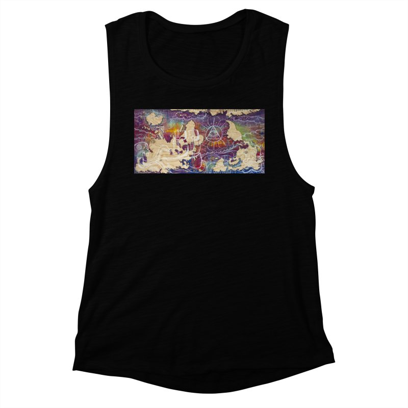 Turn your World upside down Women's Muscle Tank by kimkirch's Artist Shop