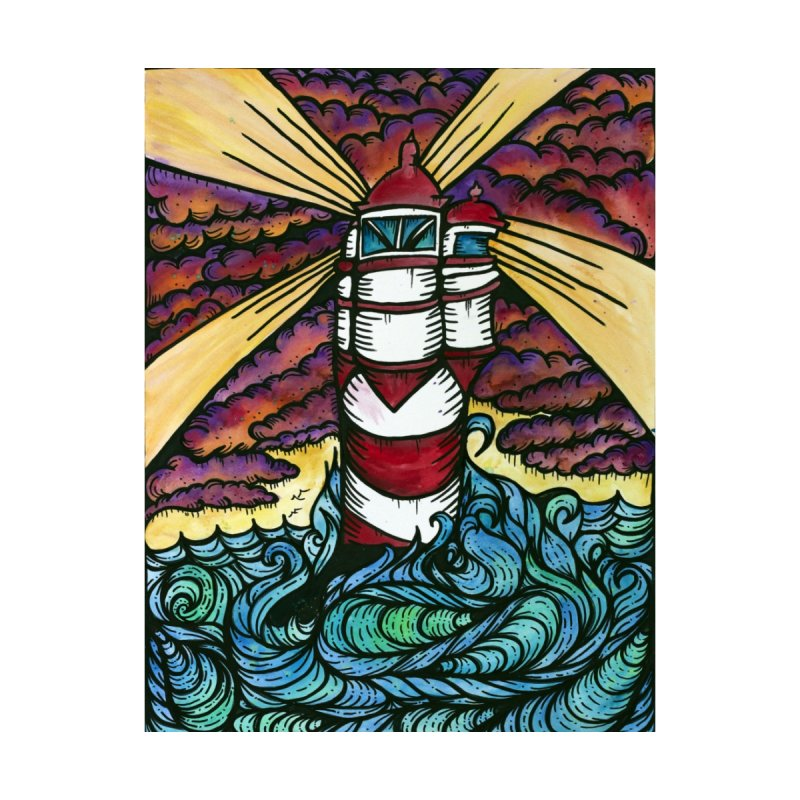Light house  Home Fine Art Print by kimkirch's Artist Shop